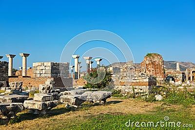 St. Johns Basilica at Selcuk Ephesus Turkey