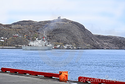 St. Johns Harbour, Newfoundland, Canada