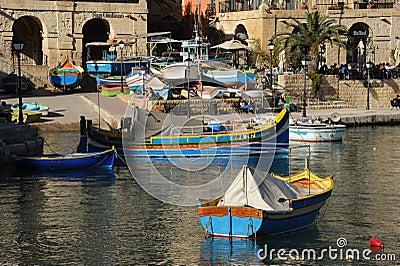 St Julians bay, Malta Editorial Photo