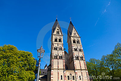 St. Kastor Church in Koblenz