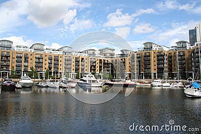 St Katharines dock London