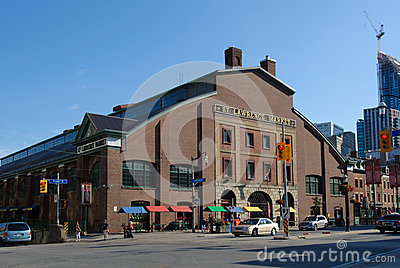 St. Lawrence Market in Toronto Editorial Stock Photo