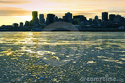 St. Lawrence River in Montreal