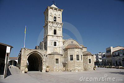St lazarus church in Cyprus