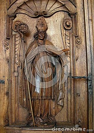 St Leger bishop in Lucerne