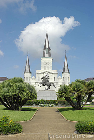 Free St. Louis Cathedral, New Orleans Royalty Free Stock Photography - 11095207