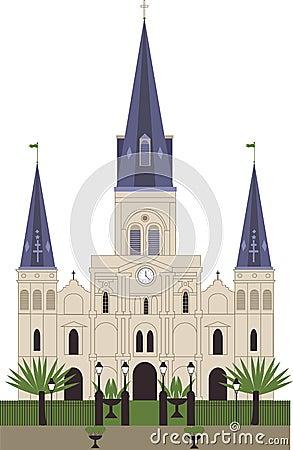 St ludwika katedra