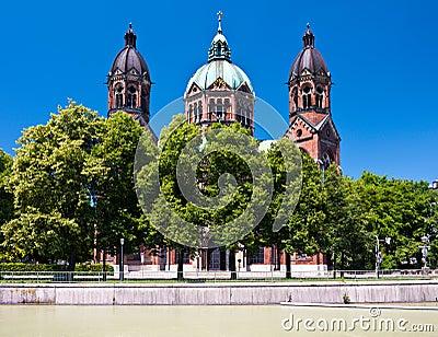 St. Lukas church, Munich, Germany