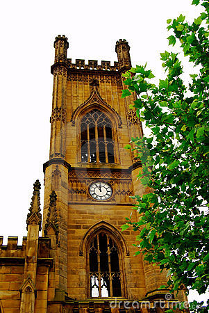 St. Luke Cathedral in Liverpool