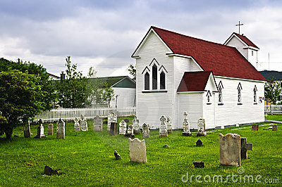 St. Luke s Church and cemetery in Placentia
