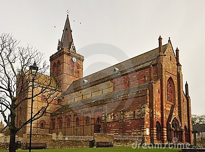 St Magnus Cathedral, north side