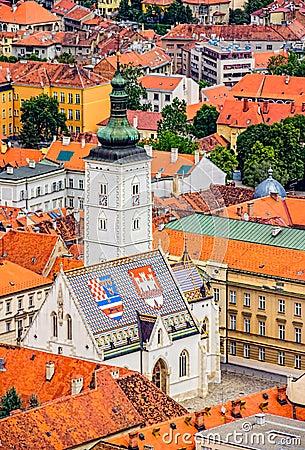 Free St. Mark S Church Zagreb Stock Image - 30176771