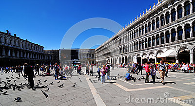 St. Mark s Square, Venice Editorial Image