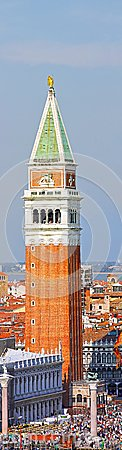 St Marks Campanile Editorial Image