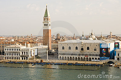 St Marks Square Editorial Stock Image