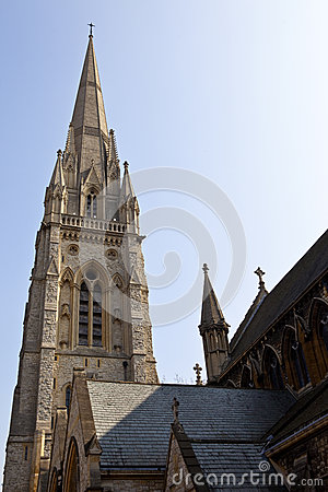 St Mary Abbots Church in Kensington, London