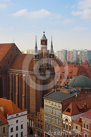 St Mary church, Torun, Poland