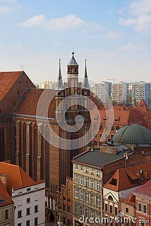 St Mary church, Torun, Poland