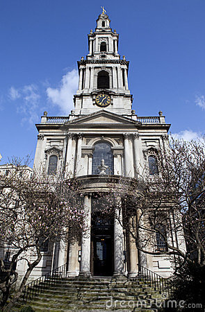 St Mary Le Strand in London