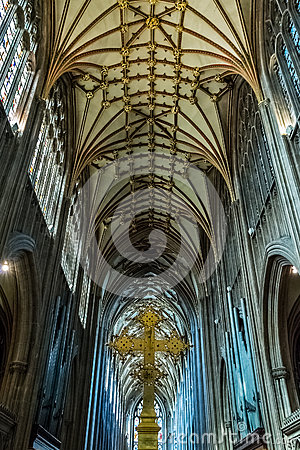 Free St Mary Redcliffe Bristol, English Gothic Architecture Church, C Royalty Free Stock Images - 63979829