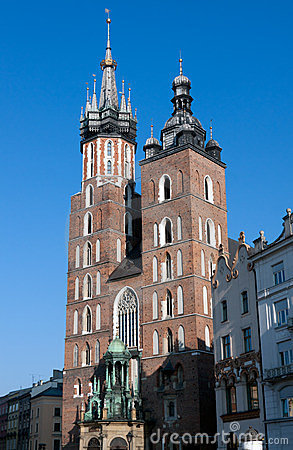St. Mary s Basilica in Krakow, Poland