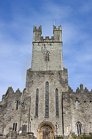 St. mary s cathedral in limerick, ireland.