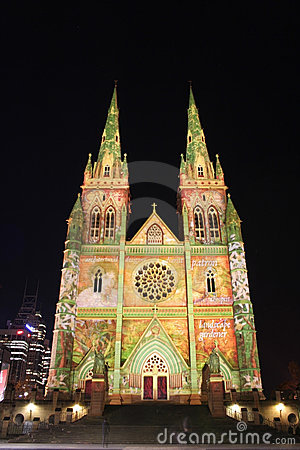 St Mary s Cathedral, Sydney, Australia Editorial Image