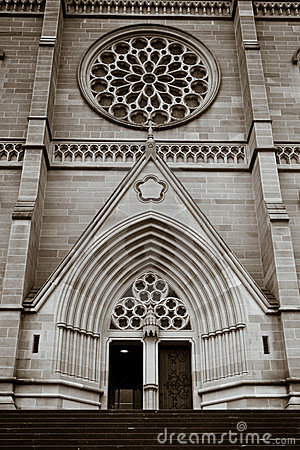 St Mary s Cathedral in Sydney, australia.