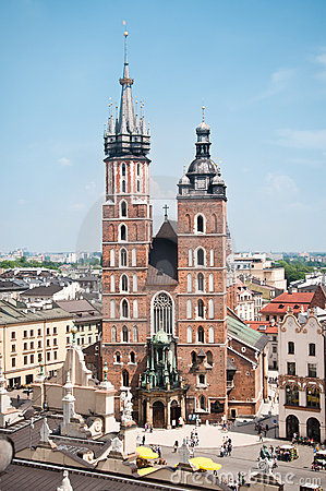 St. Mary s church in Krakow
