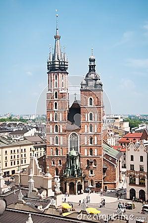 St. Mary s church in Krakow