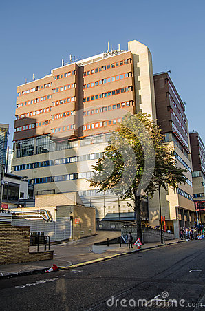 St Mary s Hospital, Paddington Editorial Stock Image