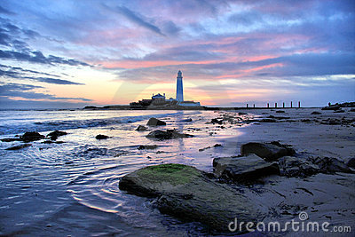 St Mary s Lighthouse and Gree
