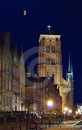 St. Mary s old cathedral in Gdansk