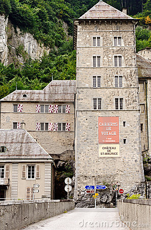 St Maurice Chateau, Switzerland