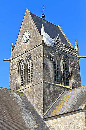 St. Mere Eglise, Normandy, France