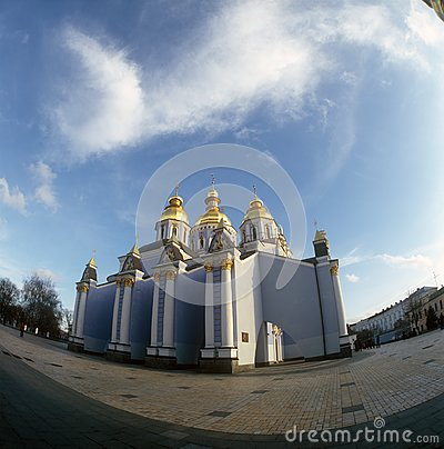 St. Michael cathedral. Kyiv, Ukraine.