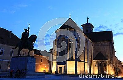 St. Michael Kathedraal in Alba Iulia, Roemenië