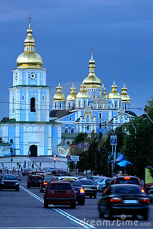 St. Michael s cathedral in Kiev
