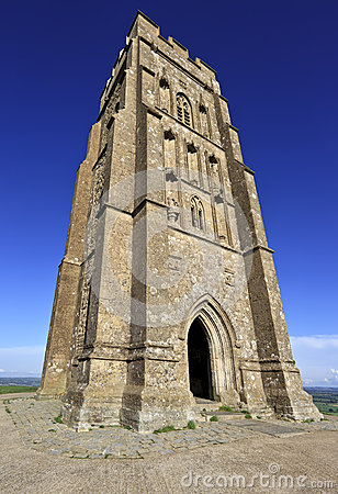 St Michael s Tower at Glastonbury Tor, Somerset, England, United Kingdom