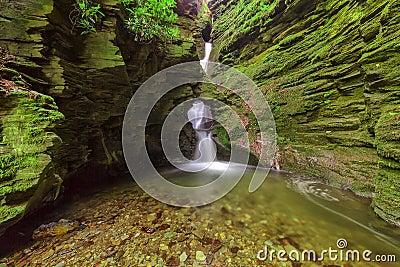 St Nectan s Glen, Tintagel, Cornwall.