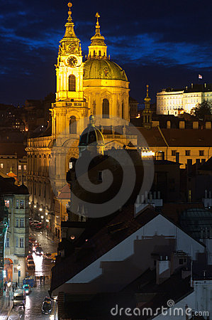 Free St.Nicholas Cathedral In Mala Strana, Prague Royalty Free Stock Images - 22951609