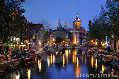 St. Nicholas Church in Amsterdam, The Netherlands