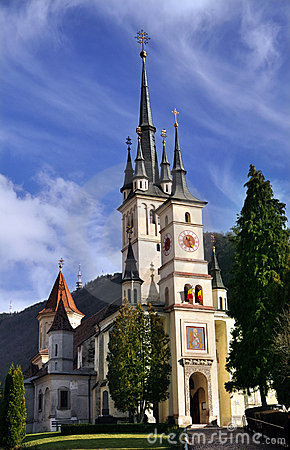 The St Nicholas Church, Brasov, Romania