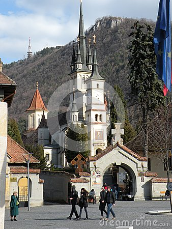 Free St. Nicholas Church In Brasov Schei District Royalty Free Stock Images - 53532559