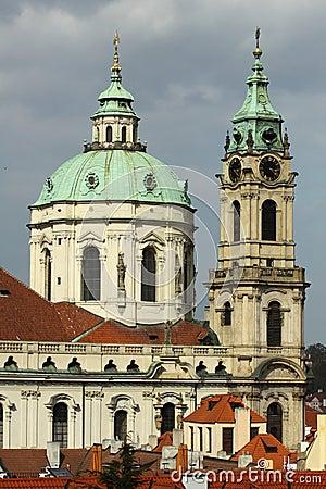 Free St. Nicholas Church In Prague Stock Photography - 19089622