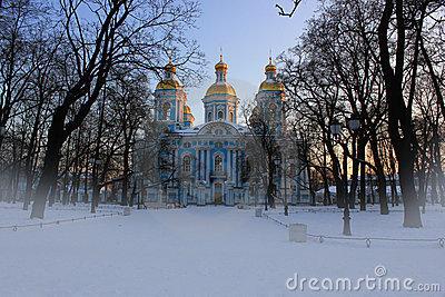 St. nicholas church, St-Petersburg
