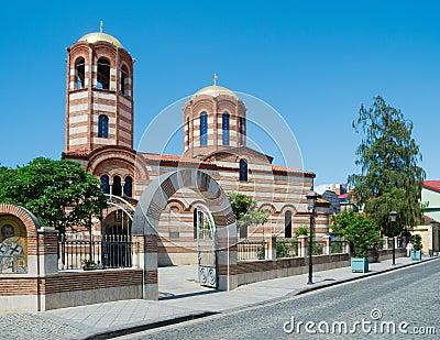 St. Nicholas Orthodox Church Editorial Photo