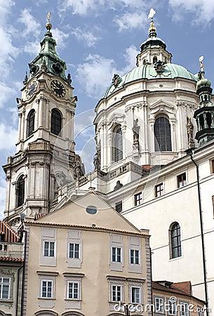 Free St Nicholas (St. Mikulas) Church In Prague Stock Images - 20245524