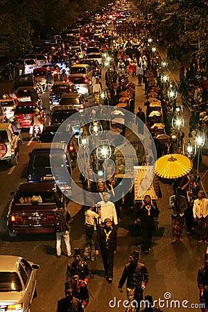 21st night of ramadan tradition Editorial Stock Photo