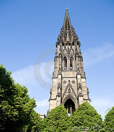Free St. Nikolai Church Stock Photos - 9650443